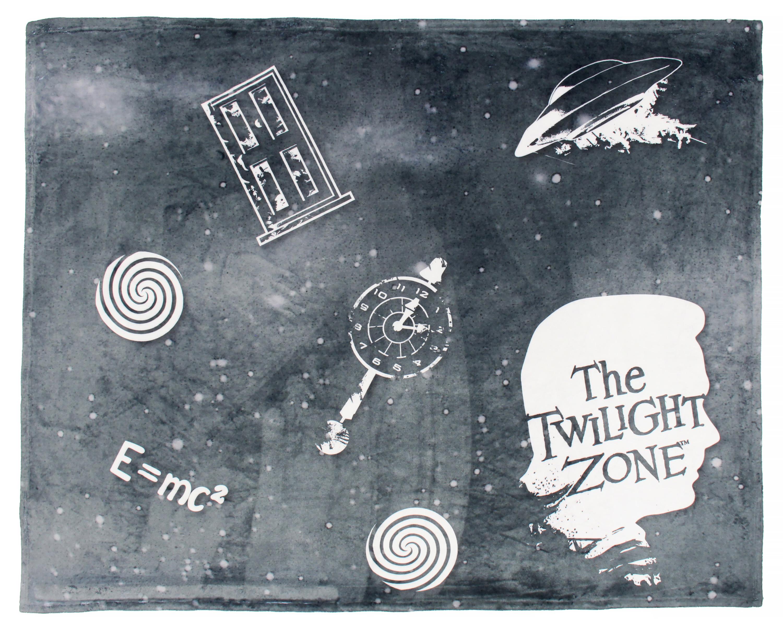 New 58x36 The Twilight Zone Fleece Throw Gift Blanket TV Series Rod Serling SOFT